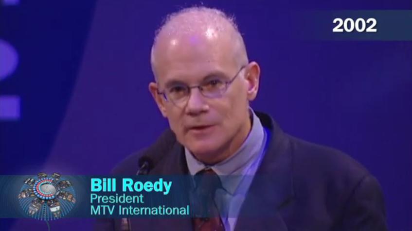 Bill Roedy, MTV Int'l (2002)