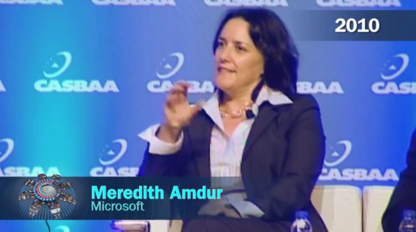 Meredith Amdur, Microsoft(2010)