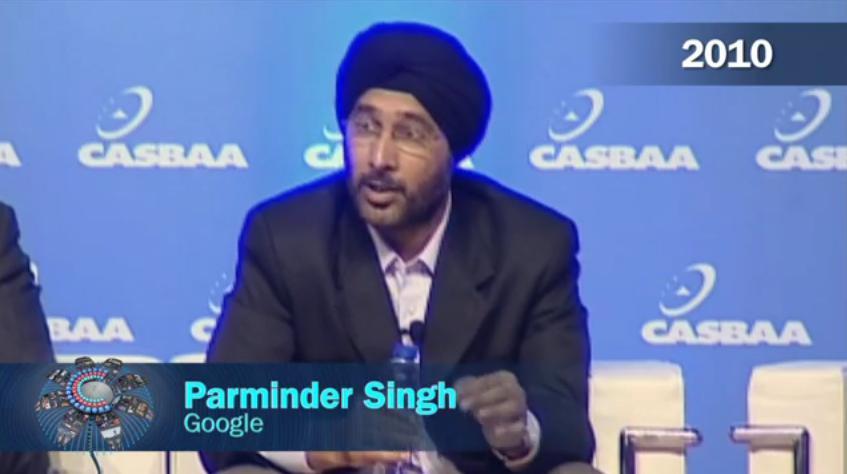Parminder Singh, Google (2010)